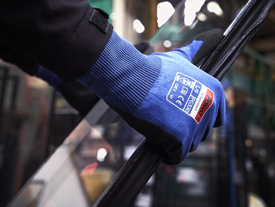 Blue Pawa Glove