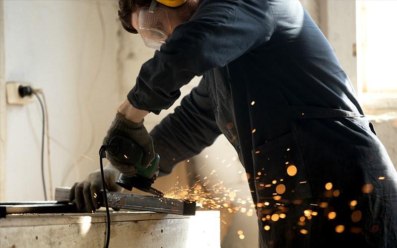 Metal Work Gloves